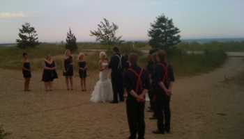 Misty Wedding in Sheboygan