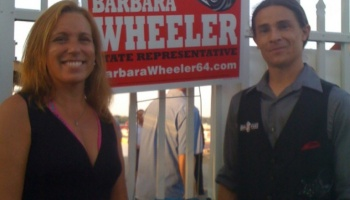 Helping raise funds for Barbara Wheeler